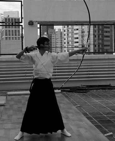 弓道體驗活動 1